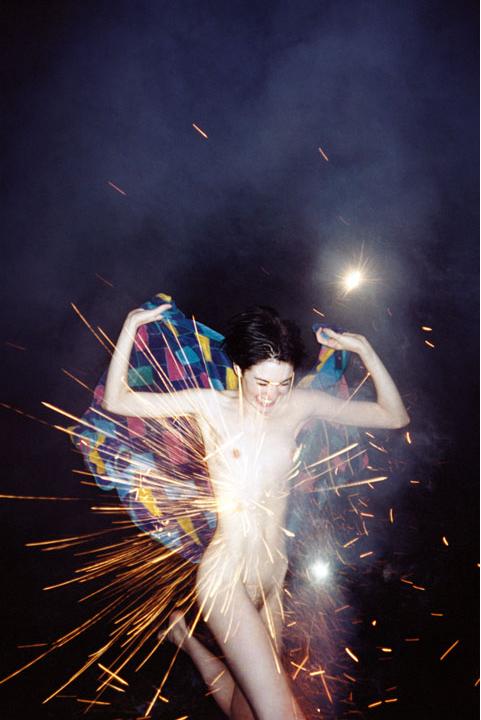 Ryan McGinley, Fireworks, 2002