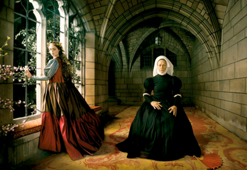 Love of a lifetime, Annie Leibowitz pour Vogue US, décembre 08