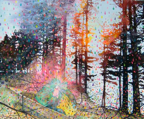 "Erika Somogyi, Divining Light, 2005, 30"" x 36"""