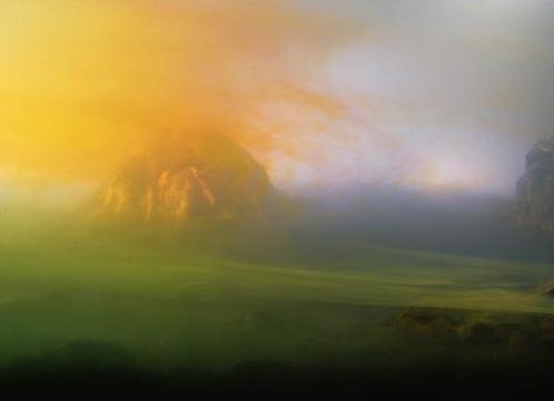 Kim Keever, Acid Rain, 2002