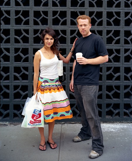 Richard Renaldi, série Touching Strangers, Lindsay and Mark, 2007, nyc