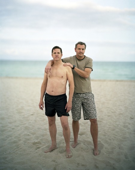 Richard Renaldi, série Touching Strangers, Mark and Eric, 2008