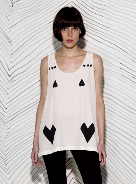 Rabbit on the Run, Keur tank top, SS09