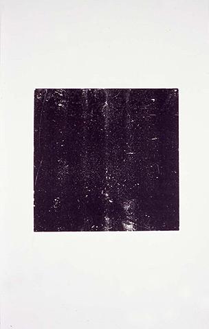 """Deva Graf, Mirror Photocopy, photocopy 18x24"""", 2005"""