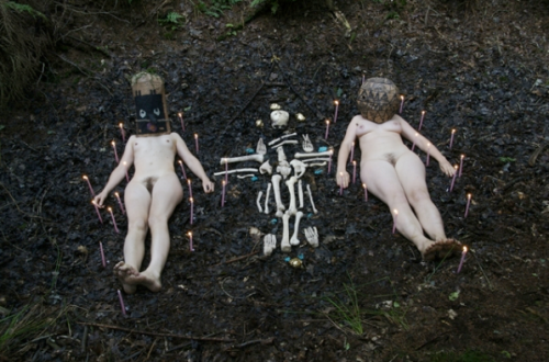 "Melanie Bonajo & Emmeline de Mooij, ""Bush Compulsion A Primitive Breakthrough in the Modern Mind"", 2008-2009"