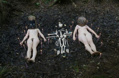 "Melanie Bonajo & Emmeline de Mooij, ""Bush Compulsion A Primitive Breakthrough in the Modern Mind"", 2008-2009"