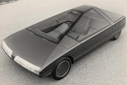 Concept car Karin, Citroën, Trevor Fiore, 1980