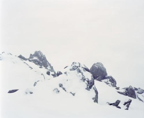 Spencer Murphy, Snowscape 1, Chamonix, 2007
