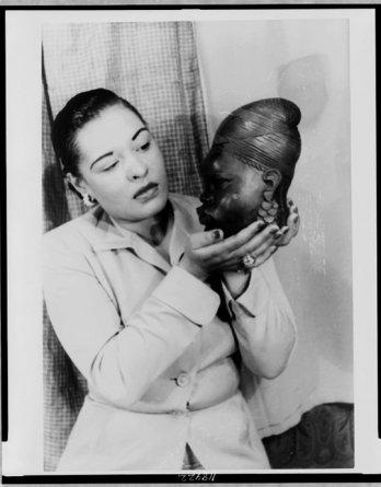 Billie Holiday par Carl Van Vechten, 1949