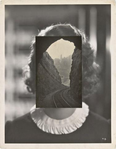 """John Stezaker, """"Mask LXV"""", 2007"""