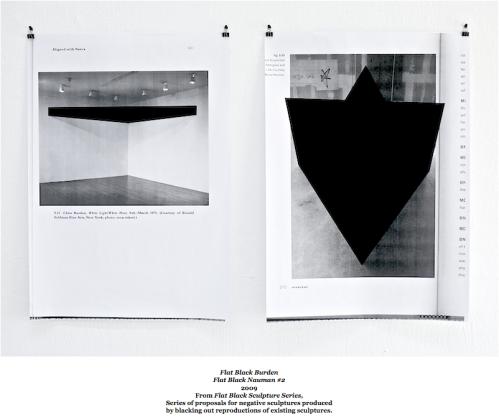 Martijn Hendriks, Flat Black Sculptures Series