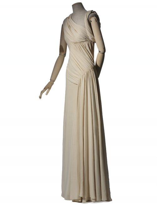 Madeleine Vionnet, Robe du soir, hiver 1935