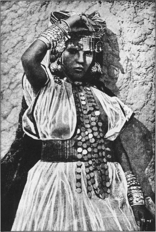 The Secret Museum of Mankind, Africa, Biskra woman (Algeria)