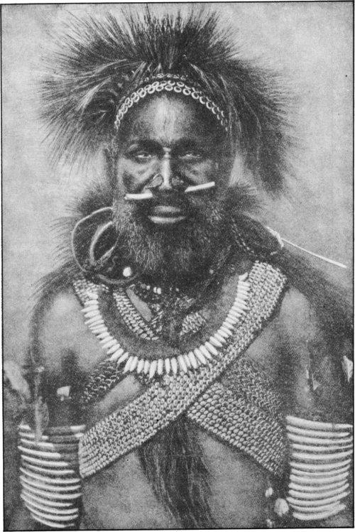 The Secret Museum of Mankind, Oceania, Cannibal captain