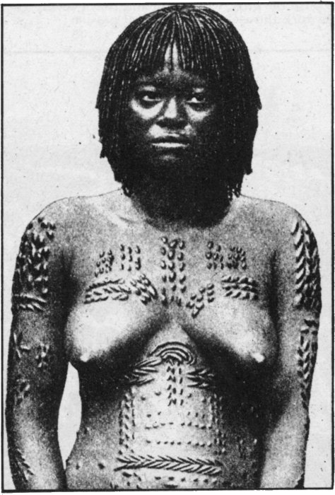 The Secret Museum of Mankind, Africa, Congo woman