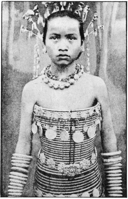 The Secret Museum of Mankind, Asia, Dayak girl (Indonesia/Malaysia)