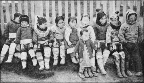 The Secret Museum of Mankind, Europe, Inuit children