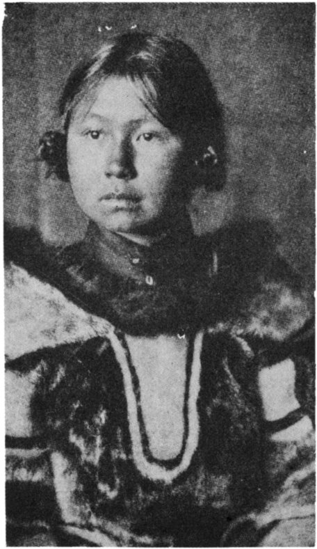The Secret Museum of Mankind, America, Young Inuit woman