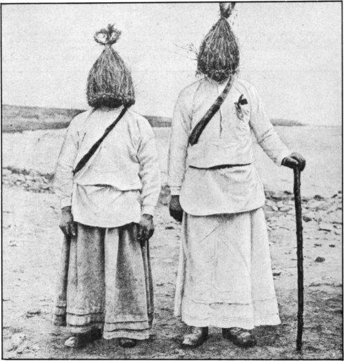 The Secret Museum of Mankind, Europe, Irish straw boys
