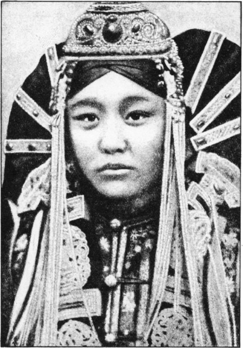 The Secret Museum of Mankind, Asia, Mongol woman