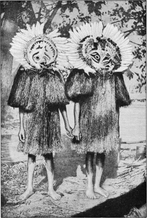 The Secret Museum of Mankind, Oceania, Papua fish masks