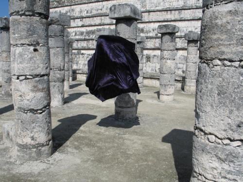 "William Hundley, Yucatan, Mexico, ""Pillars"", 2006"
