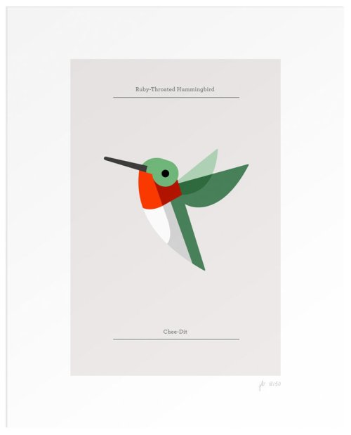 Josh Brill, Ruby-Throated Hummingbird