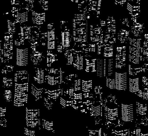 Hermès, carré 70 Graphic Night