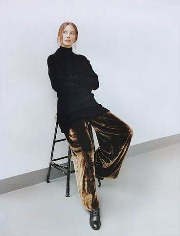 """Artistry!"" Photographed by Patrick Demarchelier, Harper's Bazaar, September 1993"