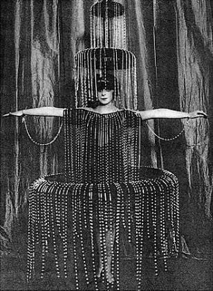 Paul Poiret, robe fontaine